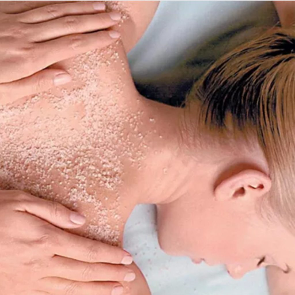 Tailor you own Back Exfoliation R350/30min