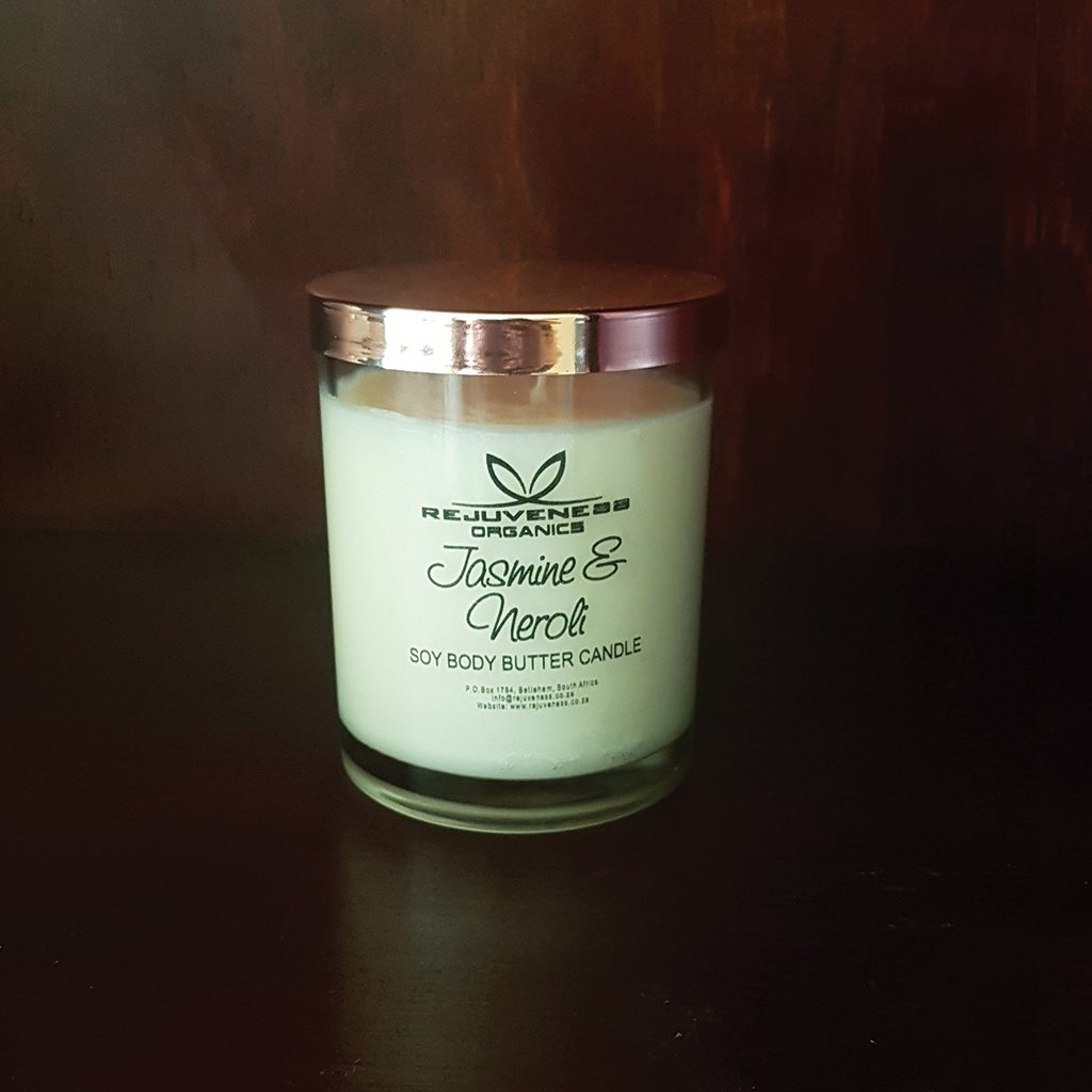 Jasmine & Neroli Body Butter Candle