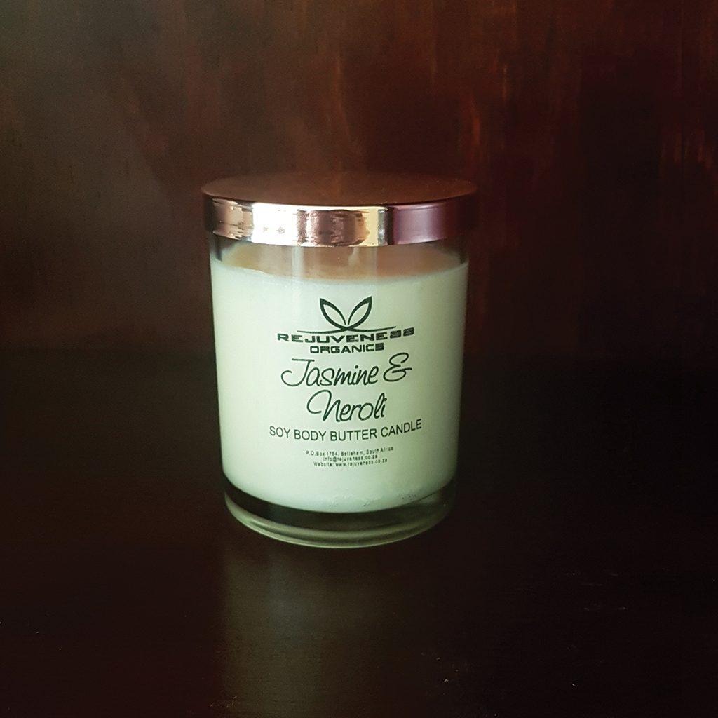 Jasmine & Neroli Body Butter Candle