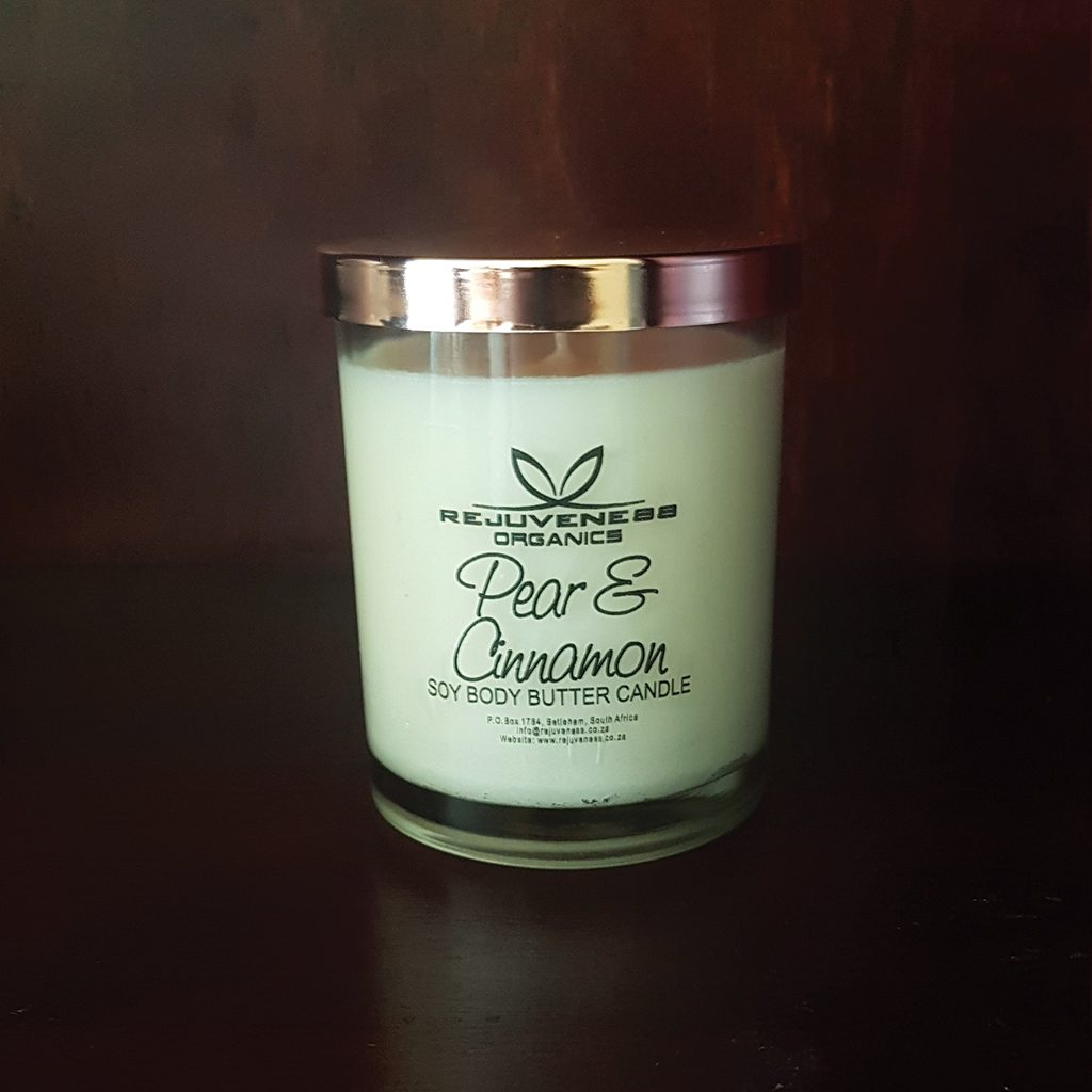 Pear & Cinnamon Body Butter Candle