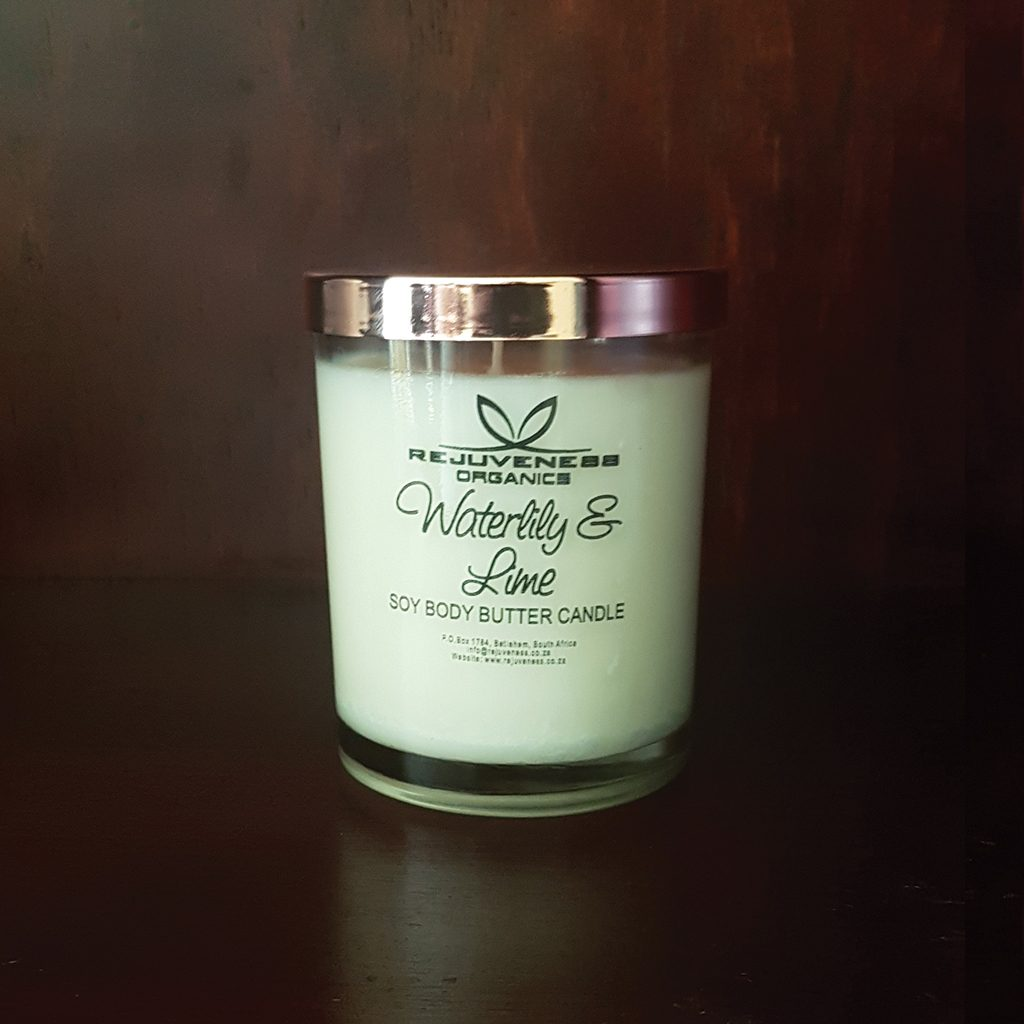 Waterlilly & Lime Body Butter Candle
