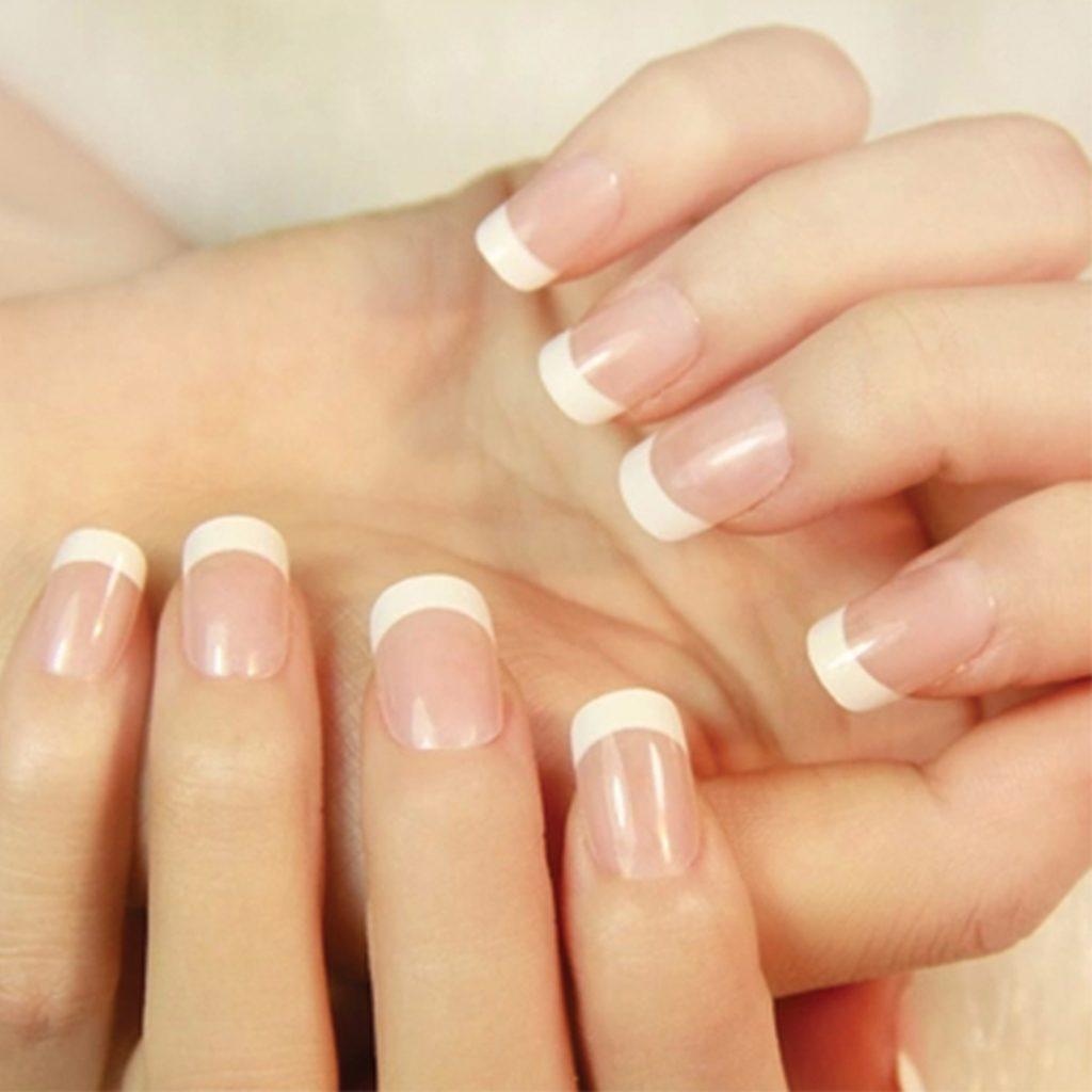 French Tips with Gel