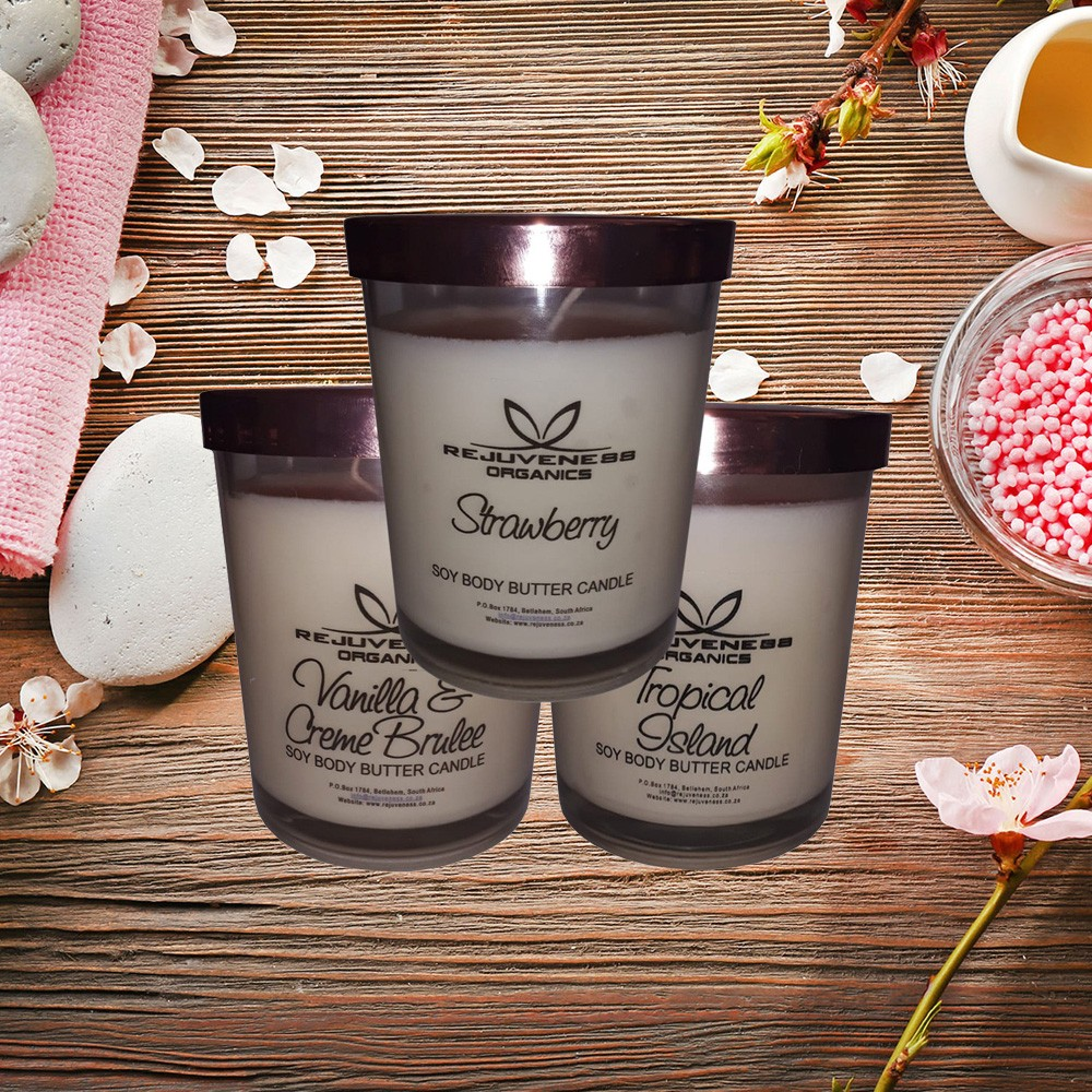 Soy Body Butter Candles